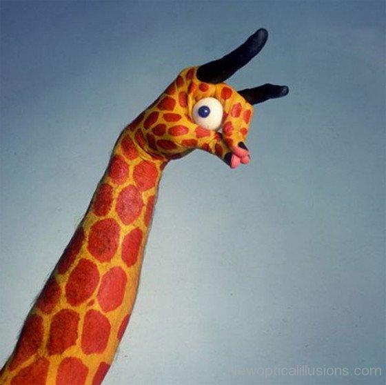 Giraffe Illusion